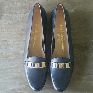 Leather Salvatore Ferragamo Loafers